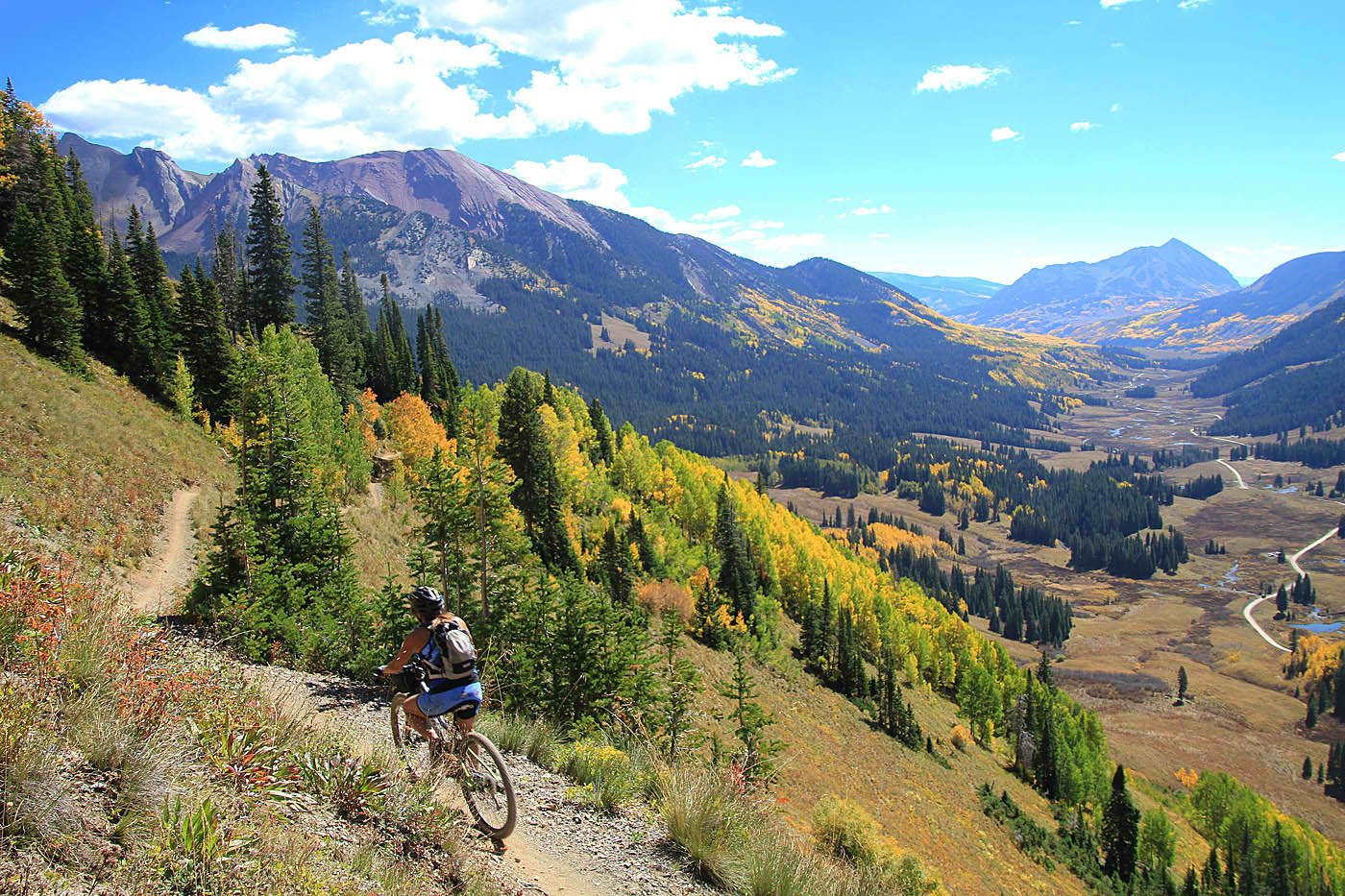 mountain biking trails in america